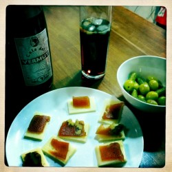 A bottle of Spanish Vermouth from Cala del Vermut