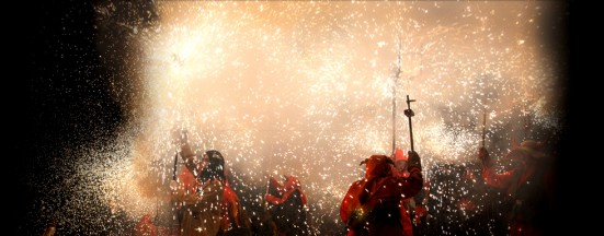 photo of the Correfoc