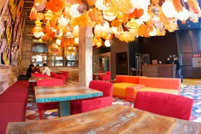 photo of the Generator Hostel Barcelona lounge