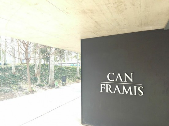 photo outside Can Framis