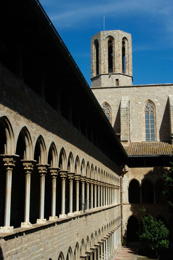 Pedralbes Monastery cloisters