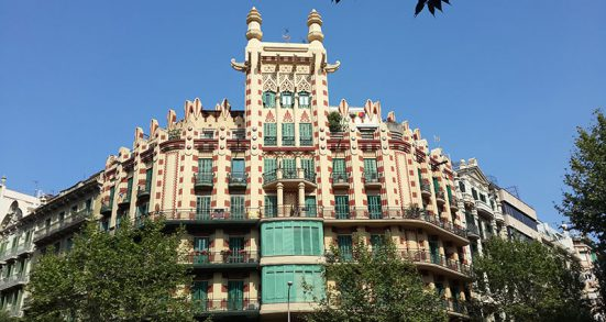 Modernist buildings of Eixample